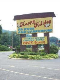 Happy Holiday Cherokee Campground