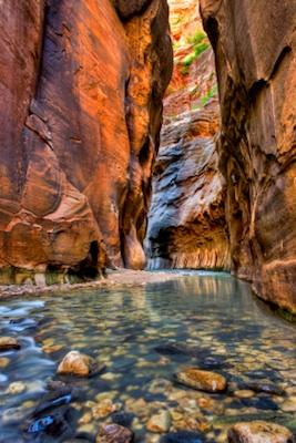 Zion Canyon Narrows Trail