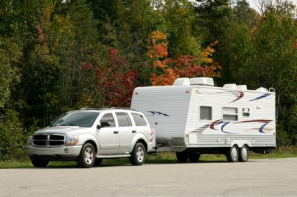 Travel Trailer in Tow