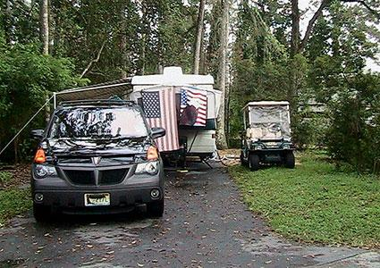 Campsite at Fort Wilderness