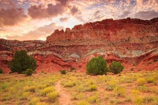 Sunrise in Capitol Reef