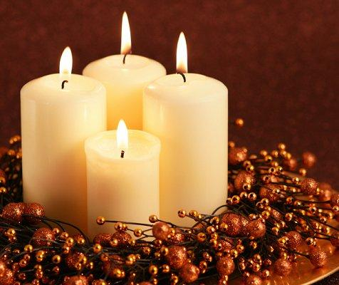 cheap candle rings for slideshow