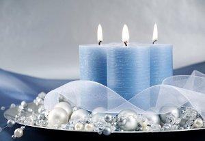 Christmas Centerpiece With Candles LoveToKnow