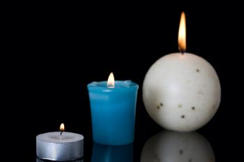 Soy wax candles come in many styles