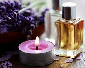 Essential Oils and Candle