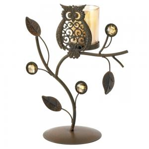Wise Owl Votive Candle Holder at Amazon.com