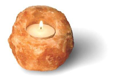 Himalayan Salt Tealight Holder at Amazon.com