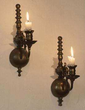 Wall Hanging Candle Holders wall mount candle holders
