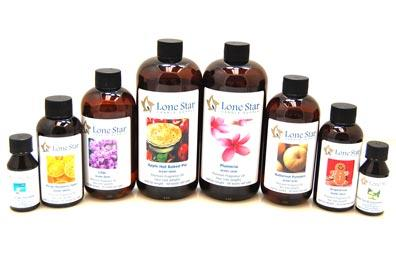 fragrance oils from Lone Star Candle Supply