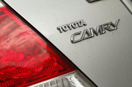 Rear of a Toyota Camry