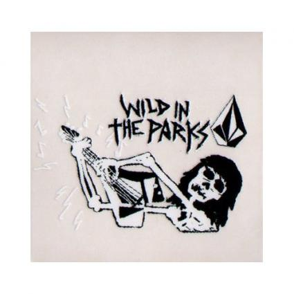 Volcom Skateboard Sticker Wild In The Parks at Amazon.com