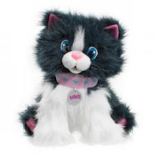 White Meowing Cat Plush Toy S