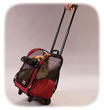 Roll Around Wheeled Pet Carrier from PetFrenzy