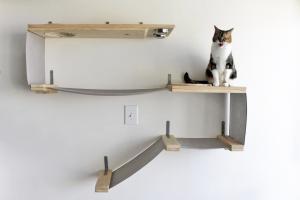 Deluxe Feeder Station Cat Hammock