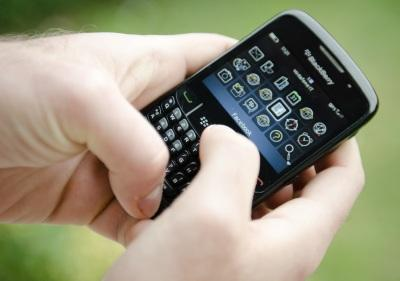 Using a BlackBerry smartphone