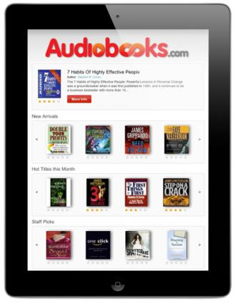 ipad app for Audiobooks.com