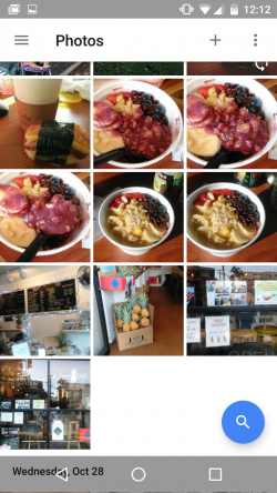 Photos view