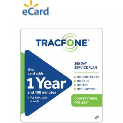 TracFone 1 Year Service Plan
