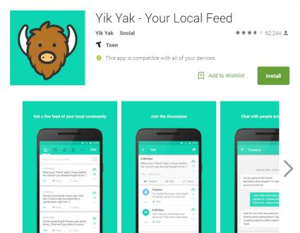 YikYak App