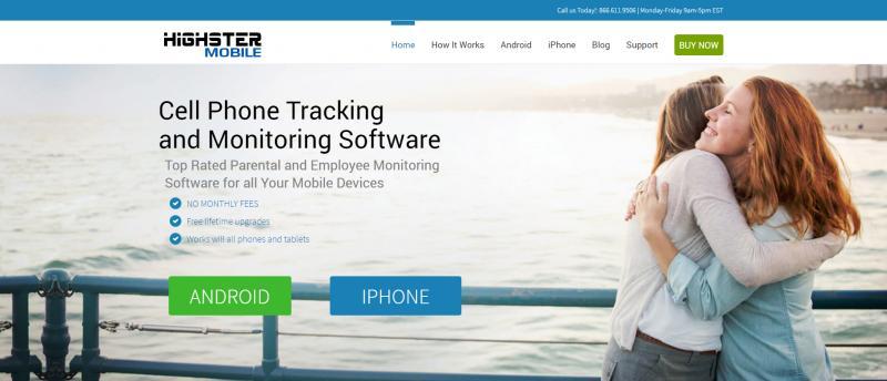 Screenshot of Highster Mobile