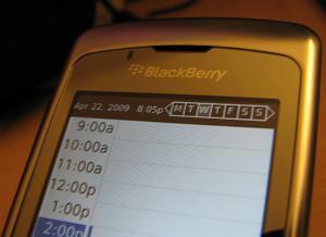 Plaxo Sync for BlackBerry