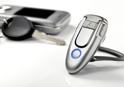 Bluetooth headset and cell phone