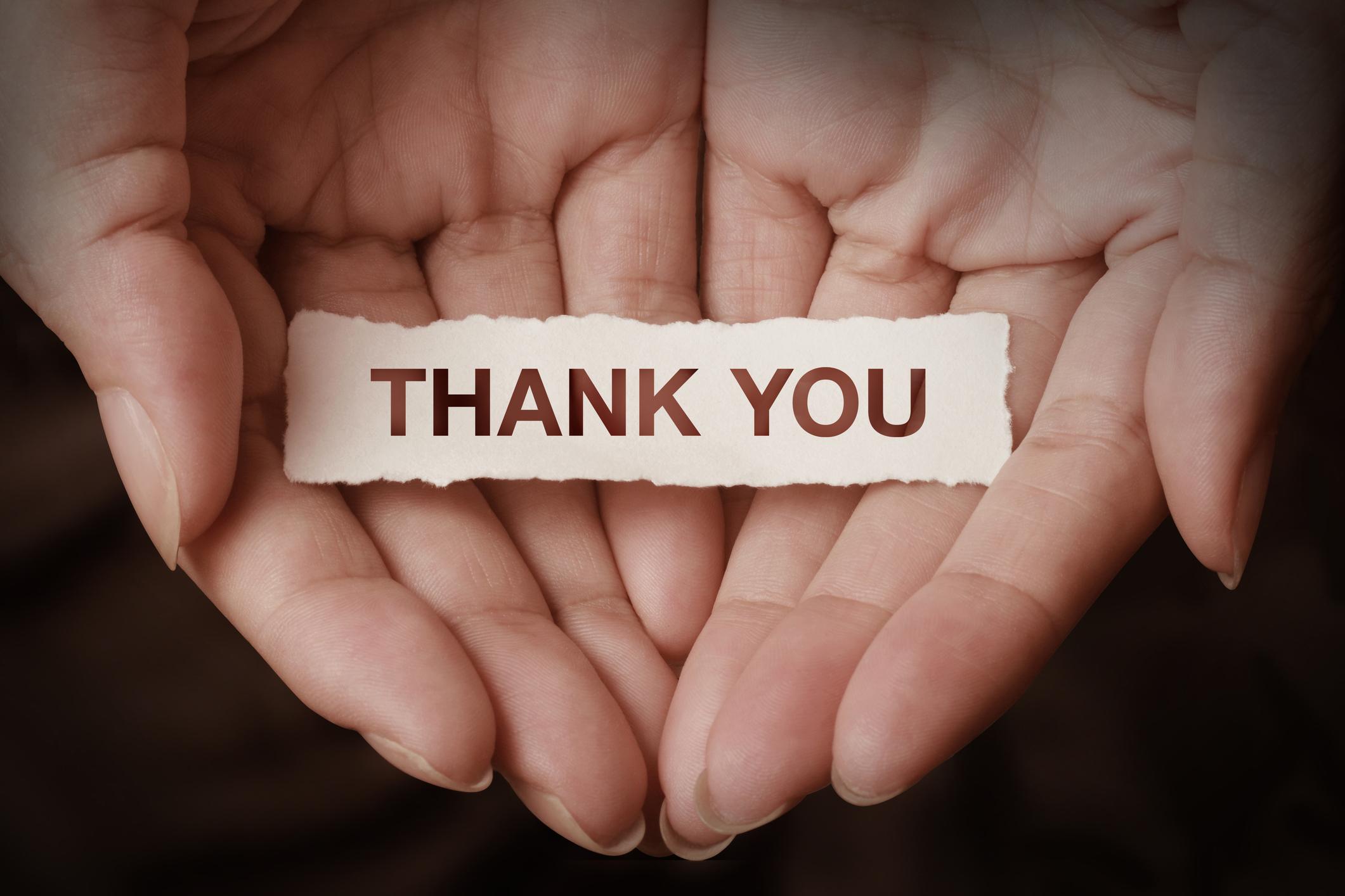 Words To Thank Volunteers