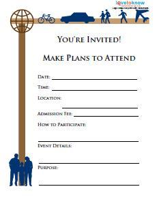 sample fundraising flyer 3