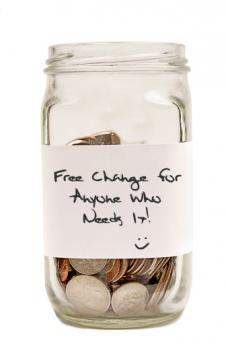 jar of free change