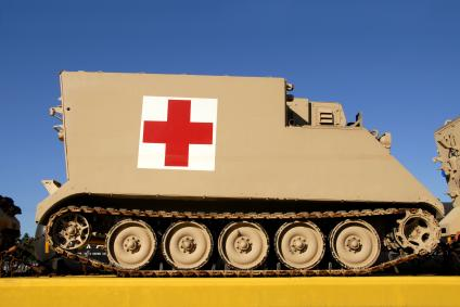 Red Cross tank