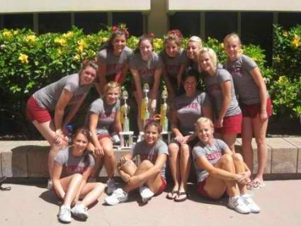DU Cheer Squad at Cheer Camp 2011