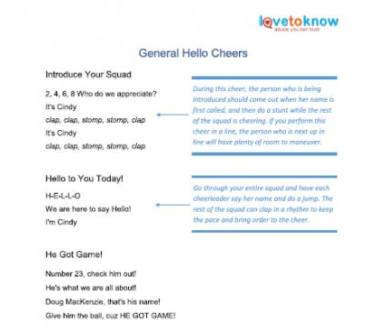 general hello cheers