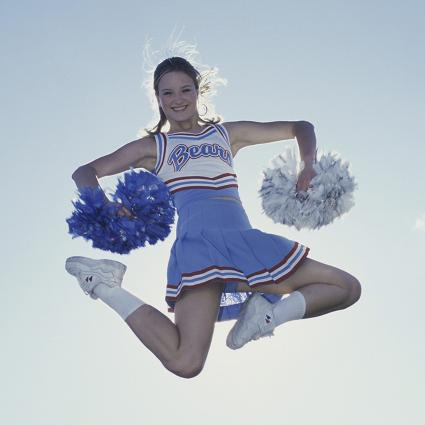 Pictures of Cheer Jumps