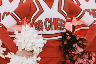 Customized cheerleader uniform