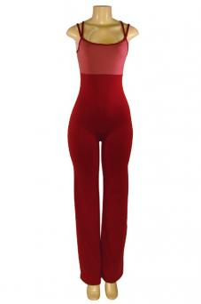 Double-strap camisole jazz leg unitard from McCormick's Guard