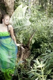fairy in woods
