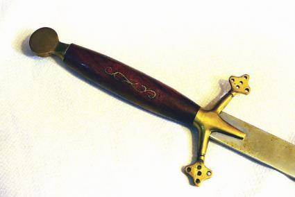 Vorpal sword.