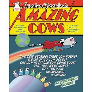 Amazing Cows book cover