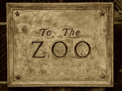 Zoo sign