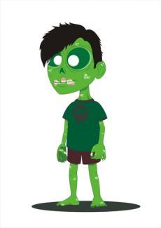 Zombie boy; © Arif Suranto | Dreamstime.com