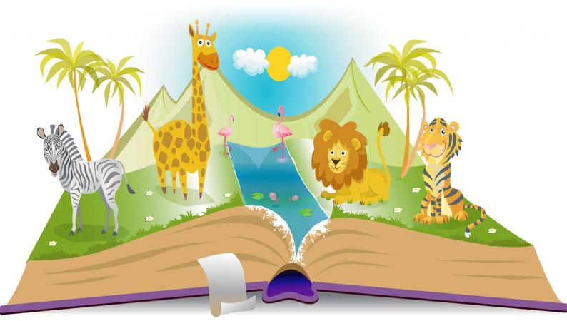 Animal fable book