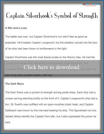 Captain Silverhook's Symbol of Strenth