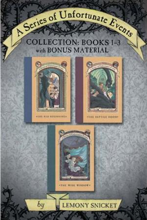 A Series of Unfortunate Events Collection: Books 1-3