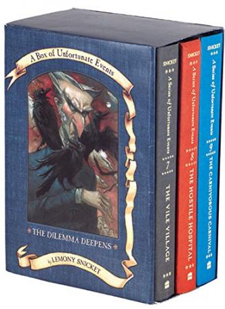 The Dilemma Deepens: A Box of Unfortunate Events, Books 7-9