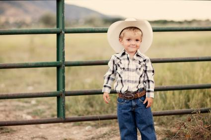 Boy cowboy hat