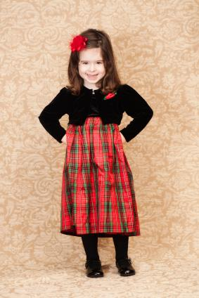 Christmas Dresses for Little Girls