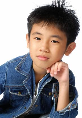 Boy in jean jacket