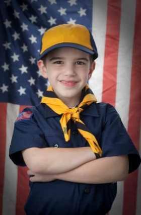 Boy Scout Uniform and Patches