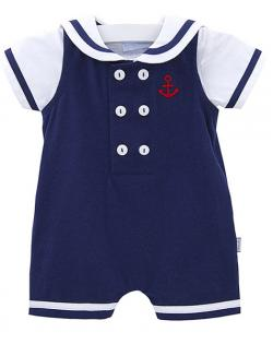 Le Top Navy Blue Nautical Outfit