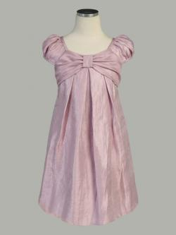 Mauve Gather Shift Dress from Pink Princess